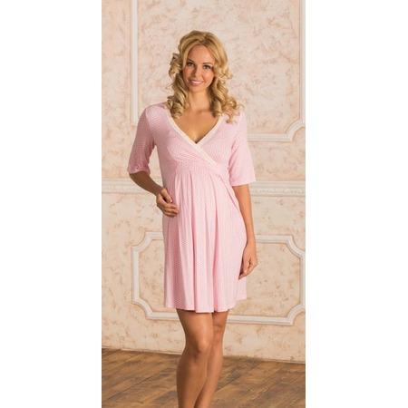 Купить Сорочка для беременных Nuova Vita 903.1. Цвет: розовый