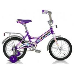 фото Велосипед Larsen Kids 14. Цвет: фиолетовый