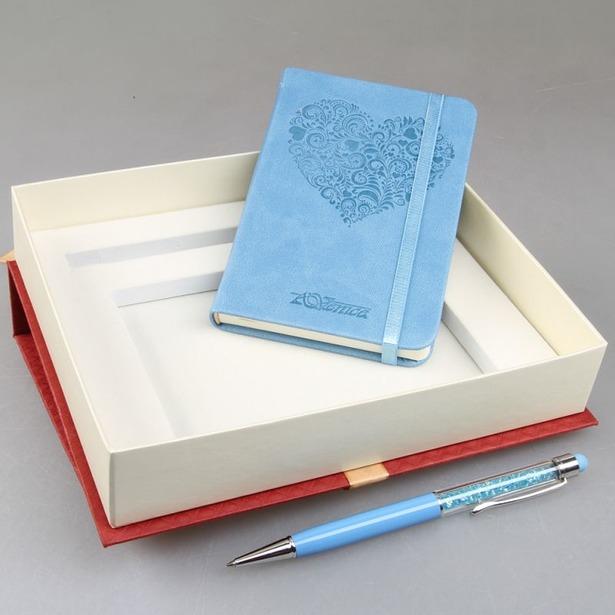 фото Набор: записная книжка и ручка-стилус Venuse 77001