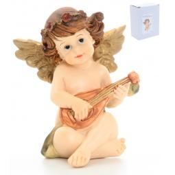 Купить Фигурка декоративная Elan Gallery Ангелочек с мандолиной