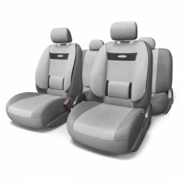 Купить Набор чехлов для сидений с ортопедической поддержкой Autoprofi COM-1105 Comfort
