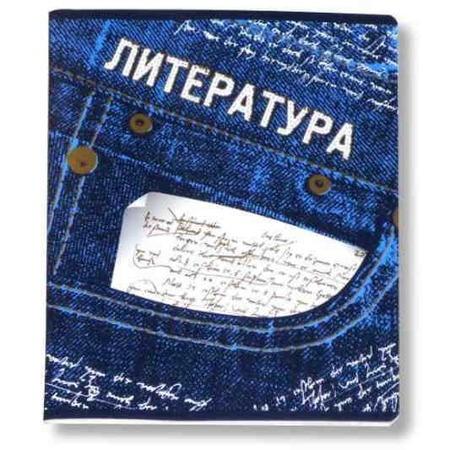 Купить Тетрадь Erich Krause «Джинс. Литература»