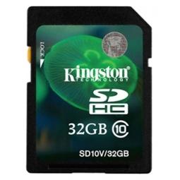 Купить Карта памяти Kingston SD10V/32GB