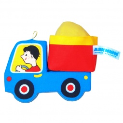 фото Мягкая игрушка развивающая Мякиши «Грузовичок» 02370. В ассортименте
