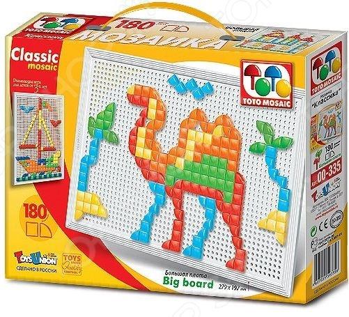 Мозаика Toys Union «Корабль пустыни» toys union мозаика с аппликацией пони 90 деталей д 15 мм toys union