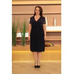 Платье Элеганс Фелиса. Цвет: синий