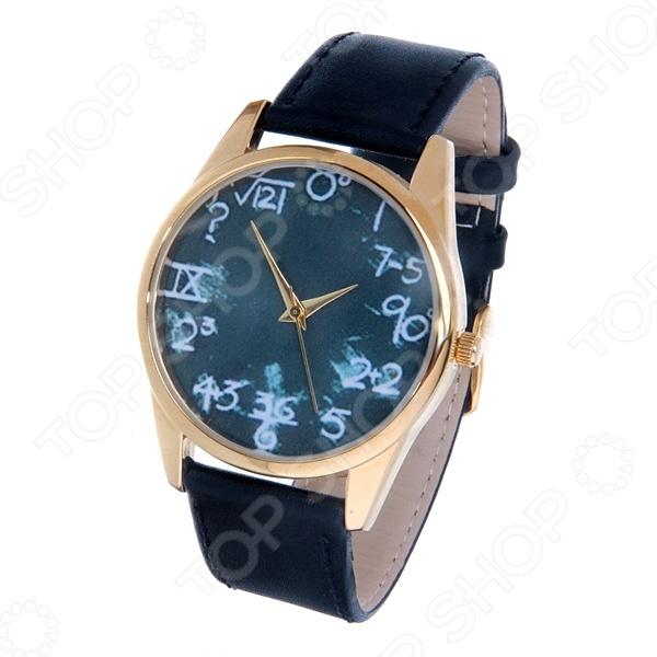 Часы наручные Mitya Veselkov «Школьная доска» Gold