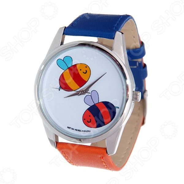 Часы наручные Mitya Veselkov «Две пчелки» вольдемар бонзельс приключения пчелки майи
