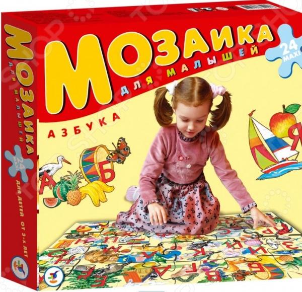 Мозаика напольная Дрофа «Азбука» игрушка напольная мозаика жемчужинка 15030