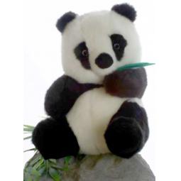 фото Мягкая игрушка для ребенка Hansa «Панда»