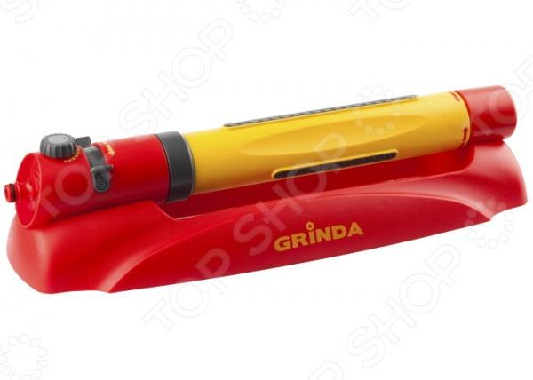Распылитель осциллирующий Grinda 427689 набор меток ориентиров grinda для засеянных грядок 25 ярлыков тип т и карандаш 125 мм