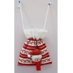 фото Мешок для подарков Новогодняя сказка «Снеговик» 93954