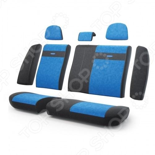 Набор чехлов для задних сидений Autoprofi TRS-002 Transformer Matrix