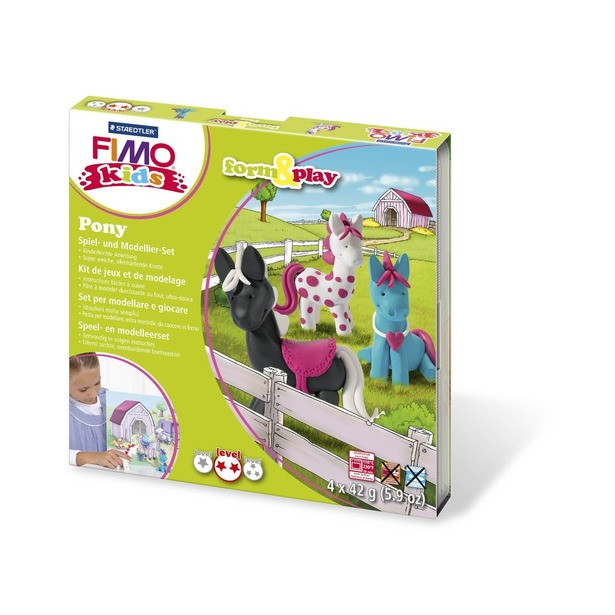 фото Набор для создания украшений детский Fimo Kids «Пони»