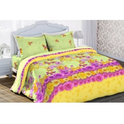 фото Комплект постельного белья Любимый дом «Яркие мгновения». 1,5-спальный