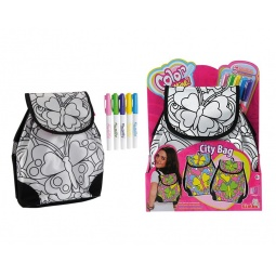 фото Набор для девочек: рюкзак и маркеры для ткани Simba «Рюкзак. Летний стиль»
