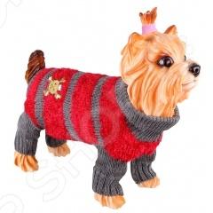 Свитер для собак DEZZIE 562515 свитер для собак dezzie 561507 цвет бежевый