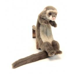 фото Мягкая игрушка для ребенка Hansa «Домашний хорек»