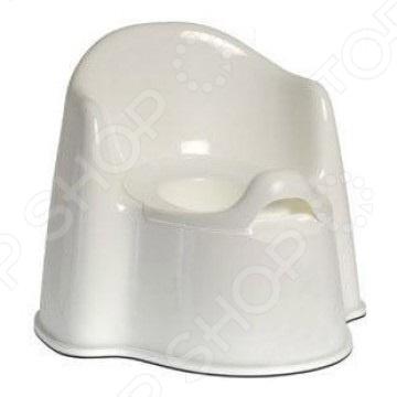 Горшок детский Little king пластиковый Горшок детский Little king 1698923 /Белый