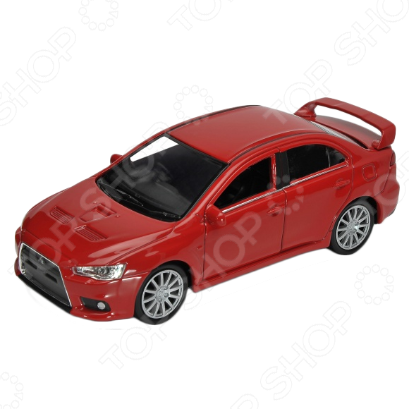 Модель автомобиля 1:34-39 Welly Mitsubishi Lancer Evolution X. В ассортименте