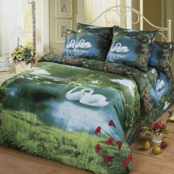 фото Комплект постельного белья АртПостель «Озеро любви». 1,5-спальный