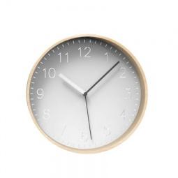 фото Часы настенные Umbra Rimwood. Цвет: белый