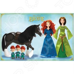 """Набор подарочный Mattel """"Королевство Мериды и Золушка в сияющем платье"""". В ассортименте"""