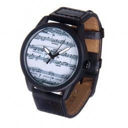 Купить Часы наручные Mitya Veselkov «Ноты» MVBlack