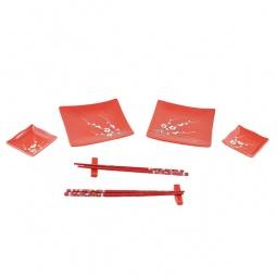 Купить Набор для суши Elan Gallery «Цветок на красном» большой