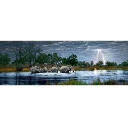 Купить Пазл 2000 элементов Heye «Стадо слонов»