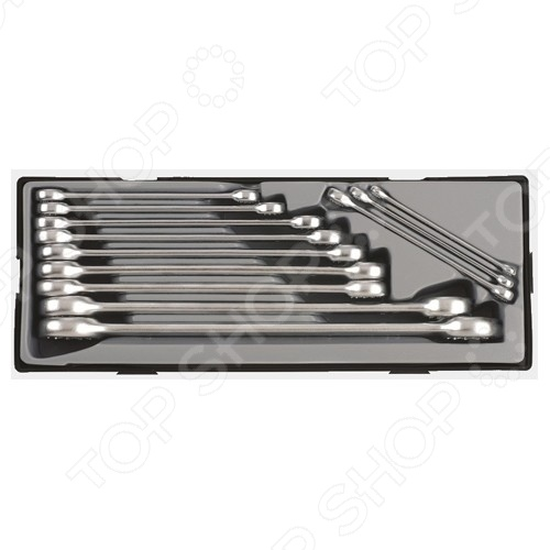 Набор ключей накидных прямых Force F-T51226 ключ накидной 12 гранный прямой силовой force f 793