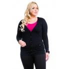 Фото Жакет Mondigo XL 8505. Цвет: черный. Размер одежды: 48