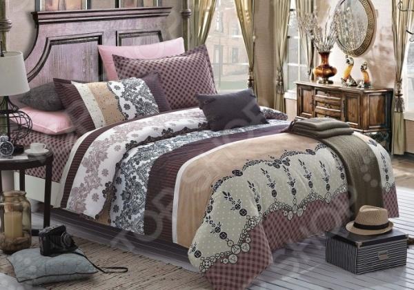 Комплект постельного белья Primavelle Monic. 2-спальный2-спальные<br>Комплект постельного белья Primavelle Monic это незаменимый элемент вашей спальни. Человек треть своей жизни проводит в постели, и от ощущений, которые вы испытываете при прикосновении к простыням или наволочкам, многое зависит. Чтобы сон всегда был комфортным, а пробуждение приятным, мы предлагаем вам этот комплект постельного белья. Приятный цвет и высокое качество комплекта гарантирует, что атмосфера вашей спальни наполнится теплотой и уютом, а вы испытаете множество сладких мгновений спокойного сна. В качестве сырья для изготовления этого изделия использованы нити хлопка. Натуральное хлопковое волокно известно своей прочностью и легкостью в уходе. Волокна хлопка состоят из целлюлозы, которая отлично впитывает влагу. Хлопок дышит и согревает лучше, чем шелк и лен. Поэтому одежда из хлопка гарантирует владельцу непревзойденный комфорт, а постельное белье приятно на ощупь и способствует здоровому сну. Не забудем, что хлопок несъедобен для моли и не деформируется при стирке. За эти прекрасные качества он пользуется заслуженной популярностью у покупателей всего мира. Комплект постельного белья выполнен из ткани сатин. Полотно имеет гладкую и шелковистую лицевую поверхность, не уступающую по качеству шелку. Кроме того, данный тип ткани сохраняет свою прочность и привлекательный вид даже после многочисленных стирок. Главное, соблюдать рекомендации по уходу от производителя. Необходимо стирать при температуре, указанной на ярлычке, с использованием порошка для цветного белья. Не следует прибегать к применению хлорсодержащих средств и отбеливателей. Желательно выворачивать белье наизнанку перед стиркой. Наволочки имеют запах с ушками, пододеяльник на молнии.<br>