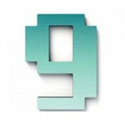 фото Дверной номерок Студия Артемия Лебедева «Дигитус» 9. Цвет: голубой