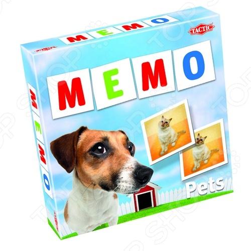 Игра развивающая Tactic 41439 «Мемо. Животные 2» настольная игра tactic мемо дикие животные 2 41441