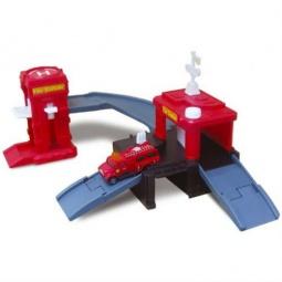 фото Набор игровой с машинкой Motormax «Пожарная станция»