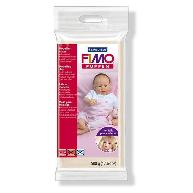 фото Глина полимерная для изготовления кукол Fimo Puppen 8029. Цвет: нейтральный