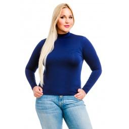 фото Водолазка Mondigo XL 264. Цвет: темно-синий. Размер одежды: 48