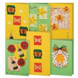 Купить Набор для создания 6-ти открыток Белоснежка «Лето»