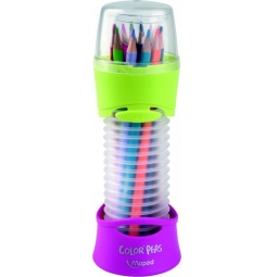Купить Набор цветных треугольных карандашей в пенале Maped 683212