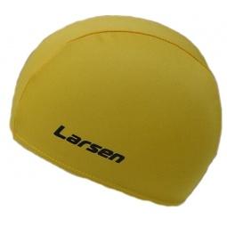 фото Шапочка для плавания Larsen 3220D. Цвет: желтый
