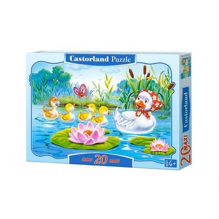 Купить Пазл 20 элементов Castorland «Гадкий Утенок»