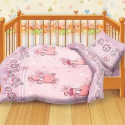 Купить Детский комплект постельного белья Кошки-Мышки Мишутки
