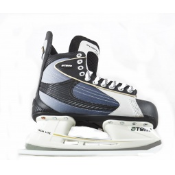 фото Коньки хоккейные ATEMI PHANTOM 1.0 GOLD. Размер: 34