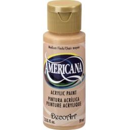 фото Краска акриловая DecoArt Премиум Americana. Цвет: темный телесный