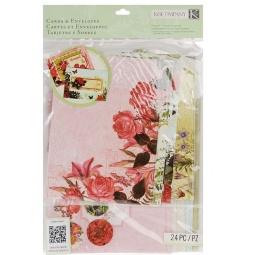 Купить Набор открыток и конвертов K&Company «Природа»