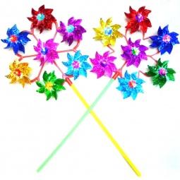 фото Игрушка-вертушка Shantou Gepai голографическая объемная «Цветы». В ассортименте
