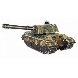 Купить 3D Пазл с моторчиком IQ Puzzle Танк King Tiger