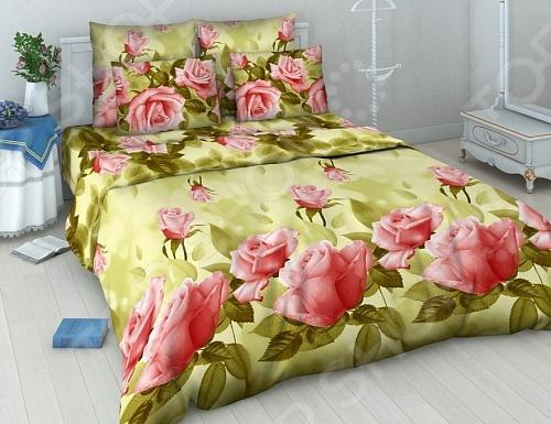 Комплект постельного белья Василиса «Нежная роза»