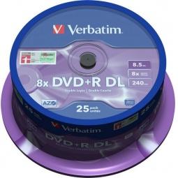 Купить Набор DVD+R дисков Verbatim 43757